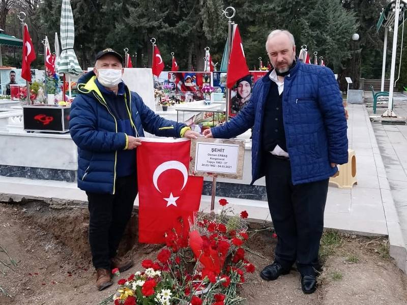 Şehit Korgeneral Osman Erbaş'a vefa! Yozgatlılar mezarına akın etti 3