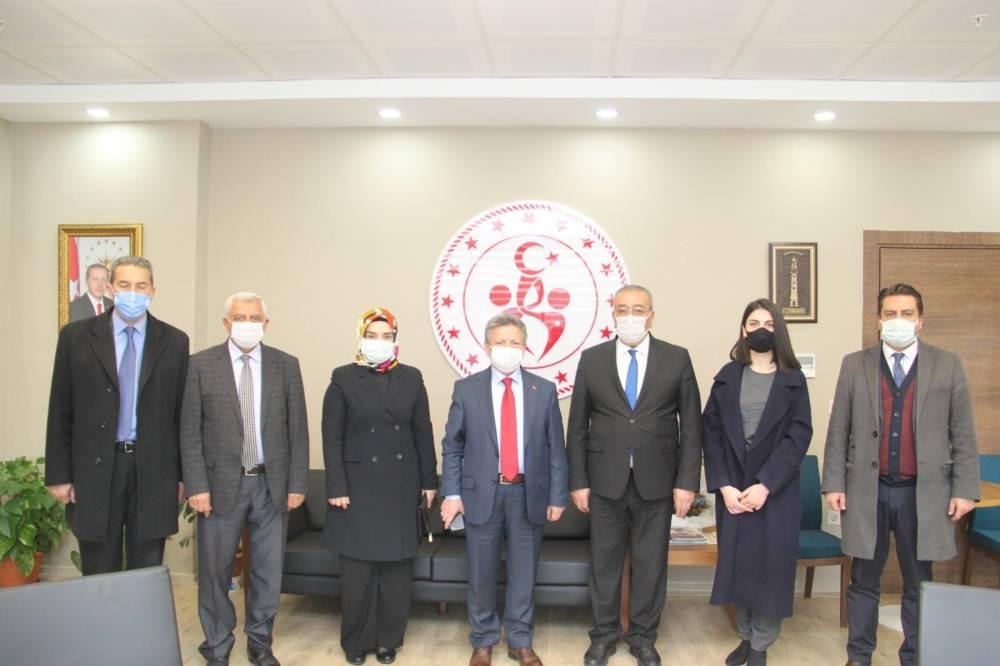 Ak Parti Yozgat İl Başkanı Yusuf Başer ziyaretlere hız verdi 1