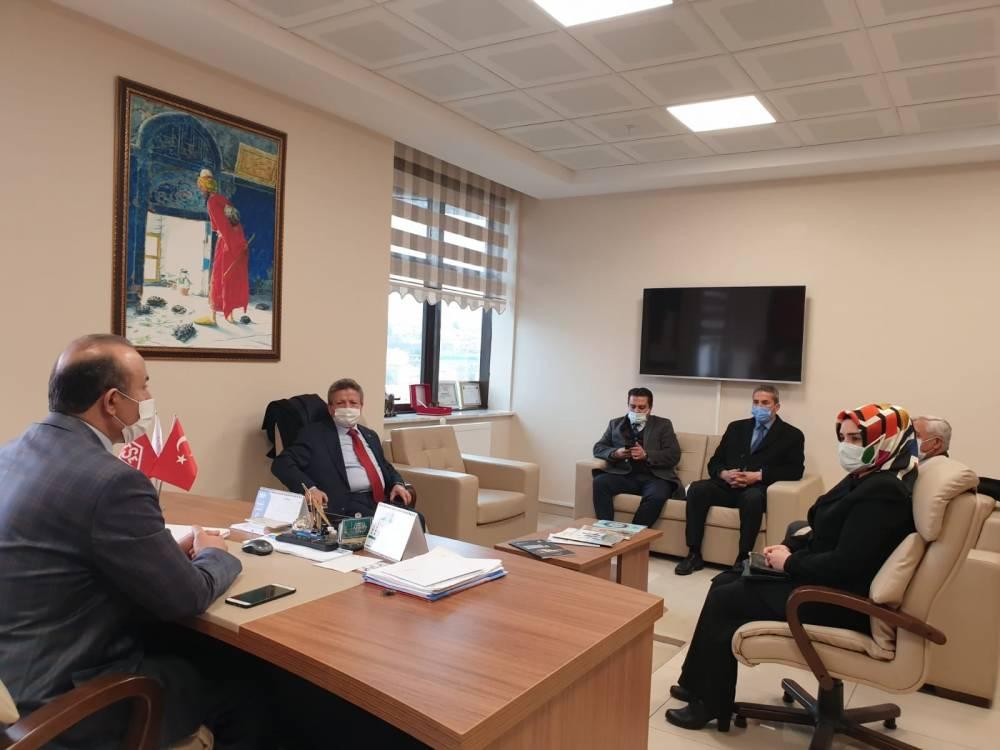 Ak Parti Yozgat İl Başkanı Yusuf Başer ziyaretlere hız verdi 2