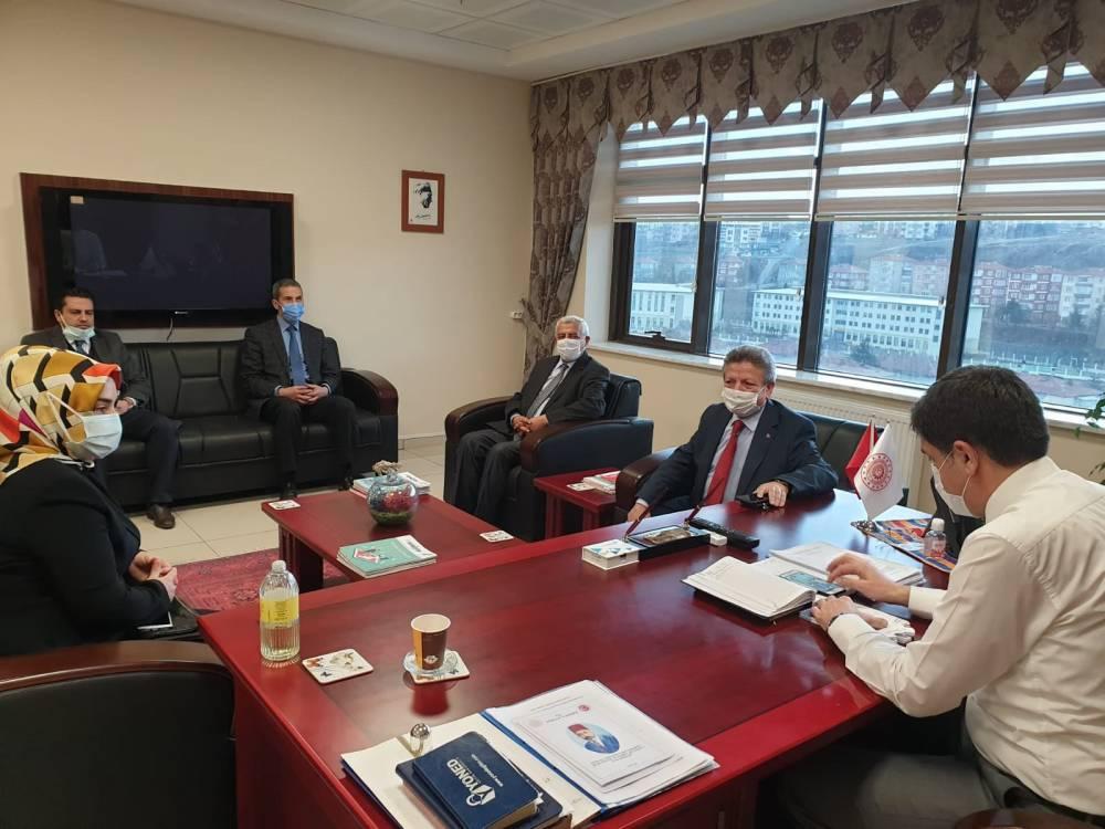 Ak Parti Yozgat İl Başkanı Yusuf Başer ziyaretlere hız verdi 4