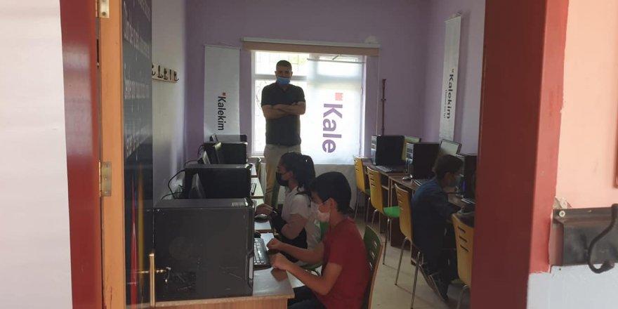 Bilişim ve teknoloji sınıfı kuruldu