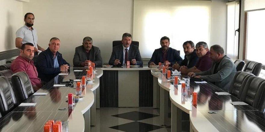 Ziraat odası başkanları toplantısı yapıldı
