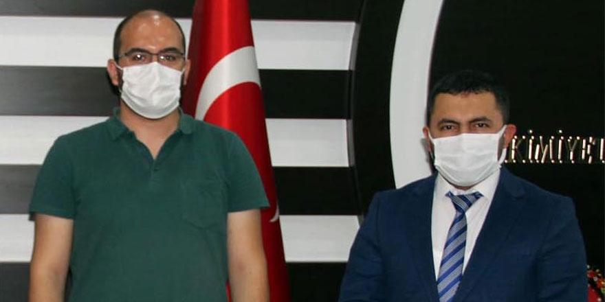Akdağmadeni Belediye Başkanı Yalçın'a teşekkür ettiler