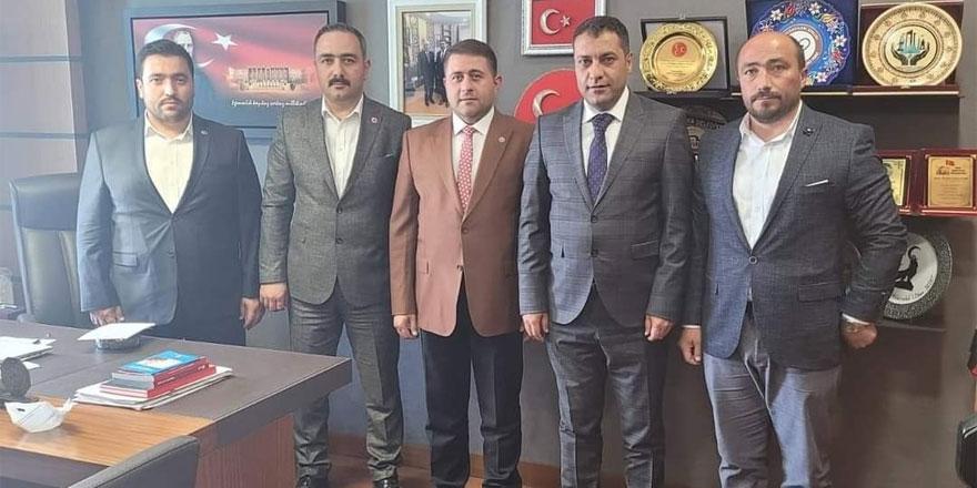 Sorgun Belediye Başkanı Ekinci'den MHP Yozgat Milletvekili Sedef'e ziyaret