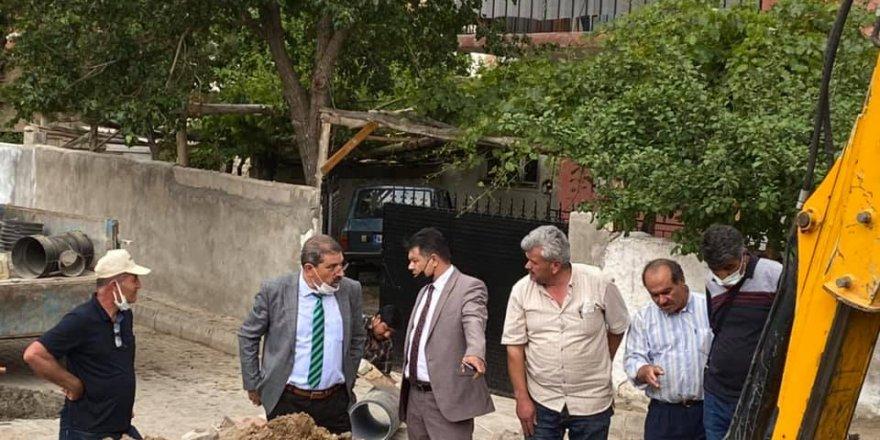 Yerköy Belediye Başkan Yardımcıları çalışmalar yerinde denetleniyor