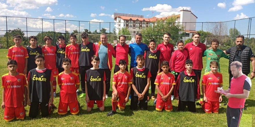 Yozgat Çamlık Milli Parkı'nda futbol şöleni