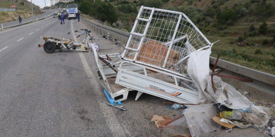 Yozgat'ta trafik kazası! Yaralılar var