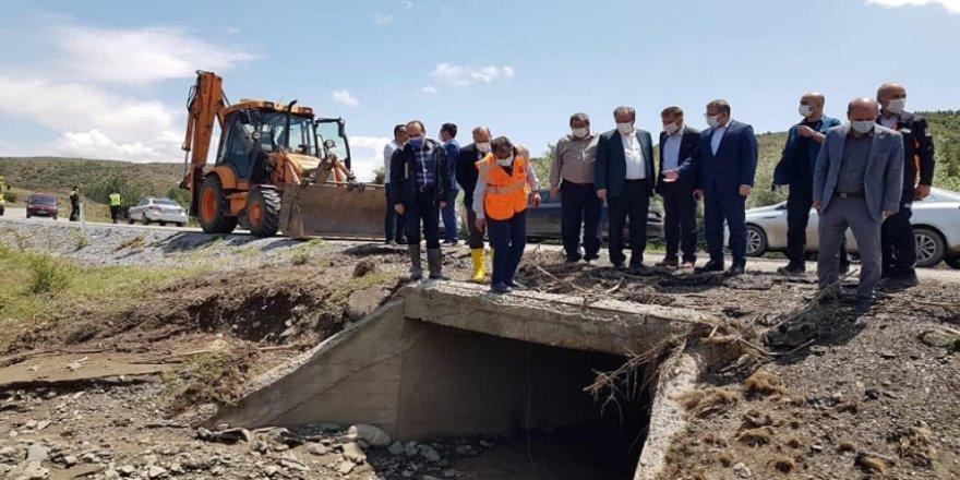 Yozgat'ta yaşanan felaketin izleri silinmeye çalışılıyor!