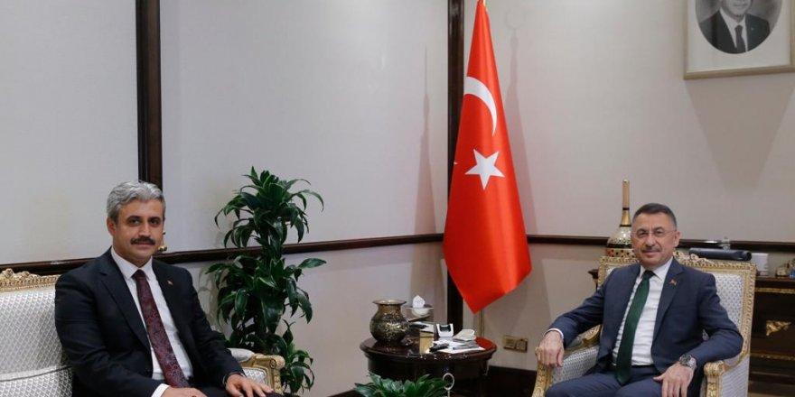 Yozgat Belediye Başkanı Celal Köse Cumhurbaşkanlığı Külliyesi'nde