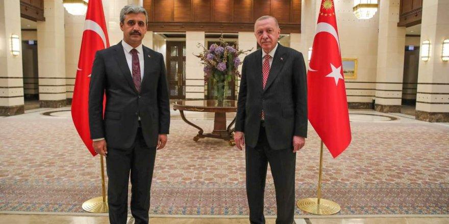 Yozgat Belediye Başkanı Köse, Cumhurbaşkanı Erdoğan'la görüştü