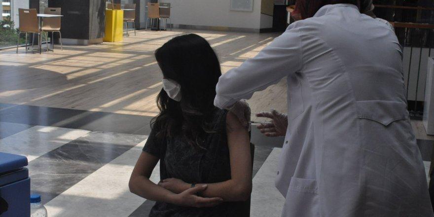 Yozgat'ta bakın nereye aşı standı kuruldu