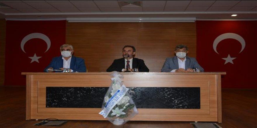 Yozgat İl Müftüsü Ali Gülden din görevlileriyle bir araya geldi