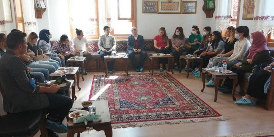 Mustafa Çiftçi, Bozkırın öğretmenleriyle buluştu