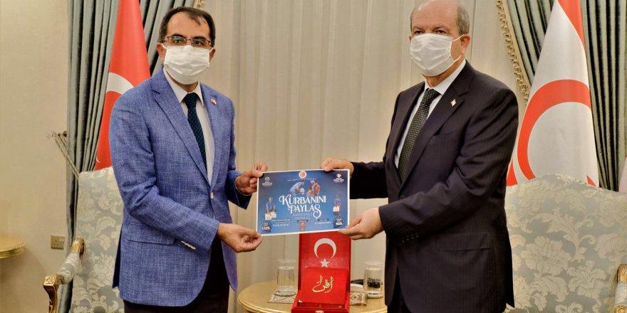 KKTC Cumhurbaşkanı Ersin Tatar kurban vekaletini TDV'ye verdi