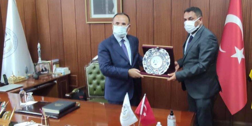 Bekir Bozdağ'dan Sorgun  Belediye Başkanı Ekinci'ye ziyaret