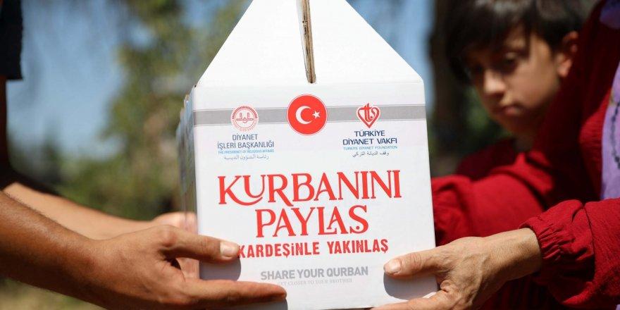Türkiye Diyanet Vakfı 27 yılda 2 milyon 802 bin 302 hisse kurban kesti