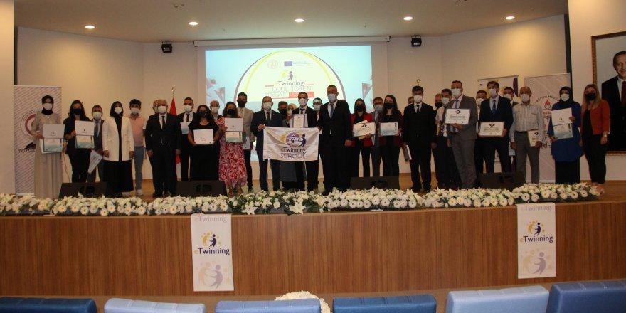 Yozgat'ta eTwinning ödül töreni düzenlendi
