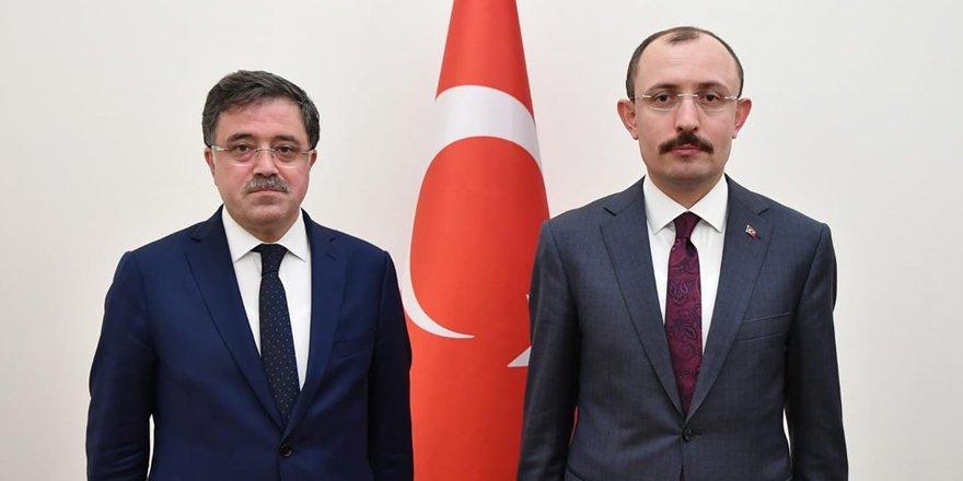 Milletvekili Başer, Ticaret Bakanı Muş'a Yozgat'ın taleplerini iletti