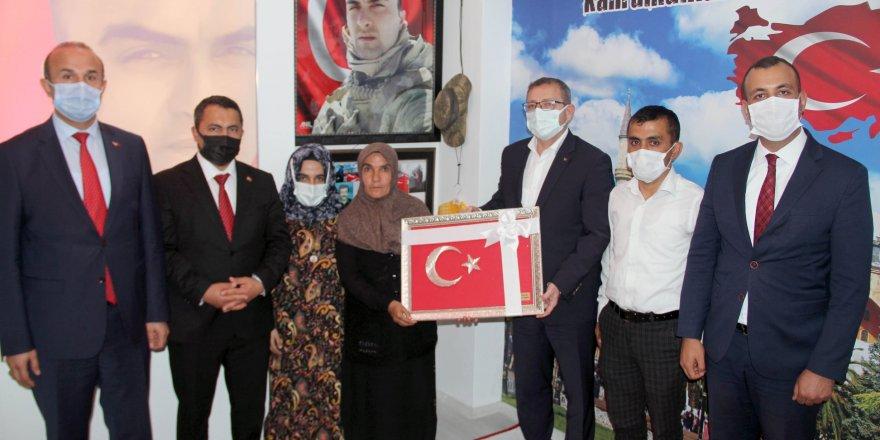 Yozgat Valisi Polat: Şehit ailelerimizin emrindeyiz