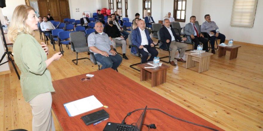 Yozgat Bozok Üniversitesi'nde bilgilendirme toplantısı düzenlendi