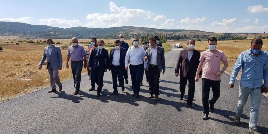 Yozgat Valisi Polat'tan çalışmalara yakın takip