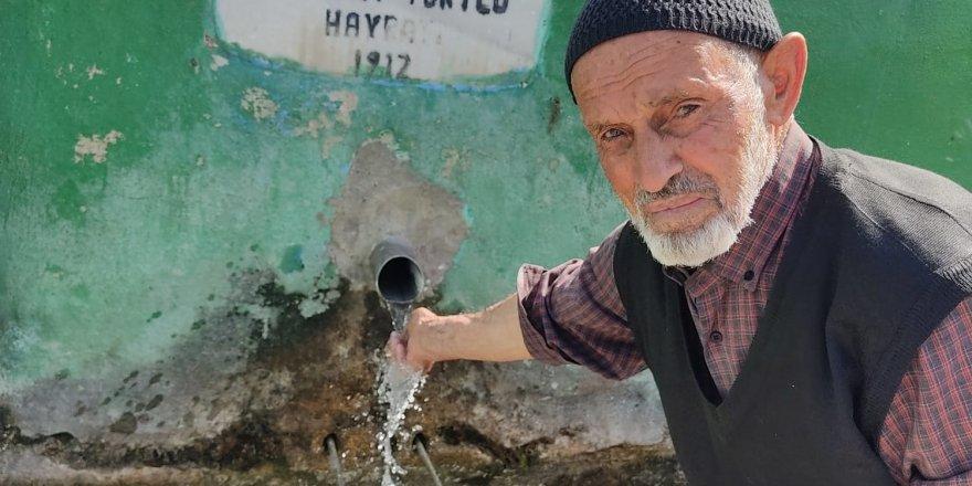 Yozgat'ta asırlık çeşme kuruyor