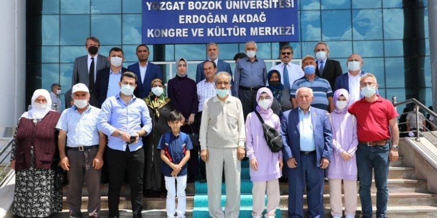 Şehit Aileleri Yozgat Bozok Üniversitesi'nde
