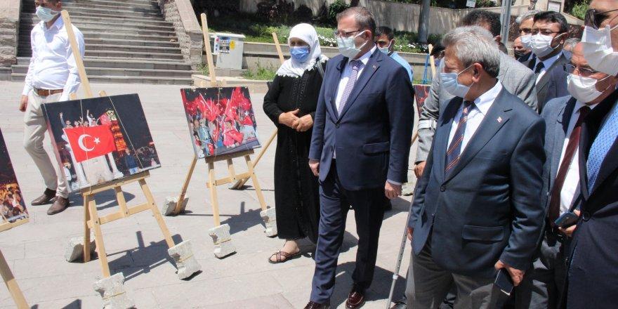 Tüm Türkiye'nin hafızasına kazınan fotoğraflar Yozgat'ta sergilendi