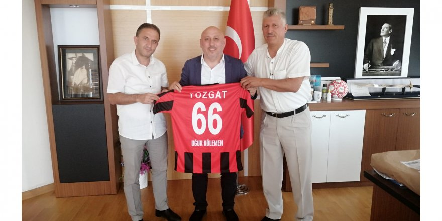 Yozgatspor Masterler Kulübü Derneği'nden Kölemen'e ziyaret