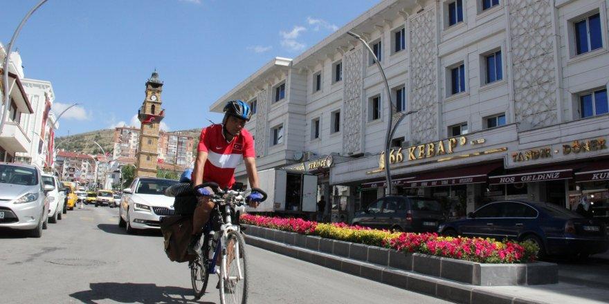 Bin kilometre mesafenin ardından Yozgat'a ulaştı