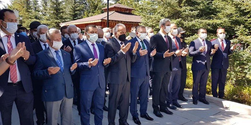 Yozgat'ta eller semaya 15 Temmuz Şehitleri için açıldı
