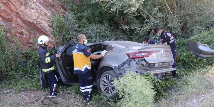 Yozgat'ta Sarıhacılı mevkisinde trafik kazası! Ölü ve yaralılar var