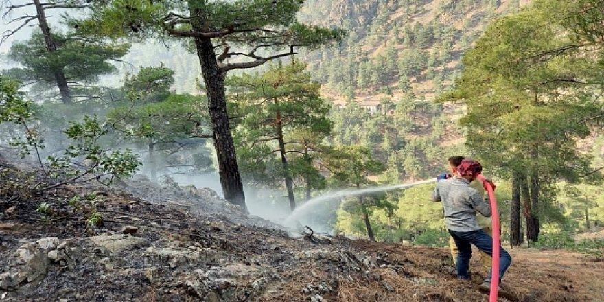 Kayseri'de çıkan yangına Yozgat'tan giden ekipler müdahale etti