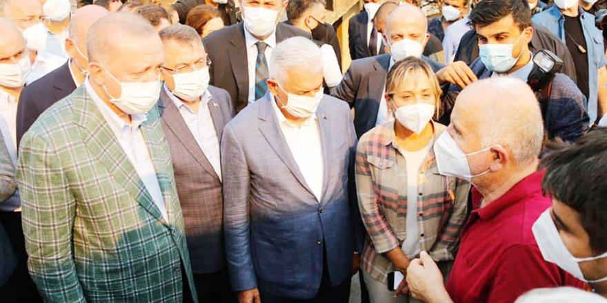 Cumhurbaşkanı Yardımcısı Fuat Oktay: Yaralar tez zamanda sarılacak