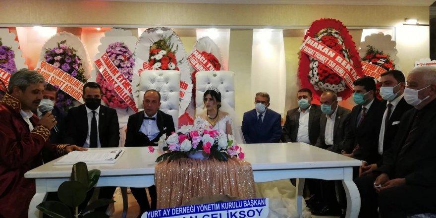 Yozgat Ülkü Ocakları Başkanı İrfan Şahbaz'ın mutlu günü