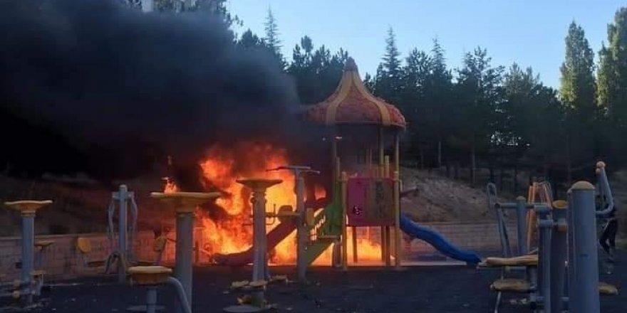 Sarıkaya'da yangın paniği!