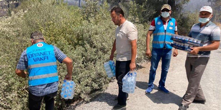 """Diyanet İşleri Başkanı Erbaş: """"Diyanet mensupları yangın bölgelerinde yaraları sarıyor"""""""