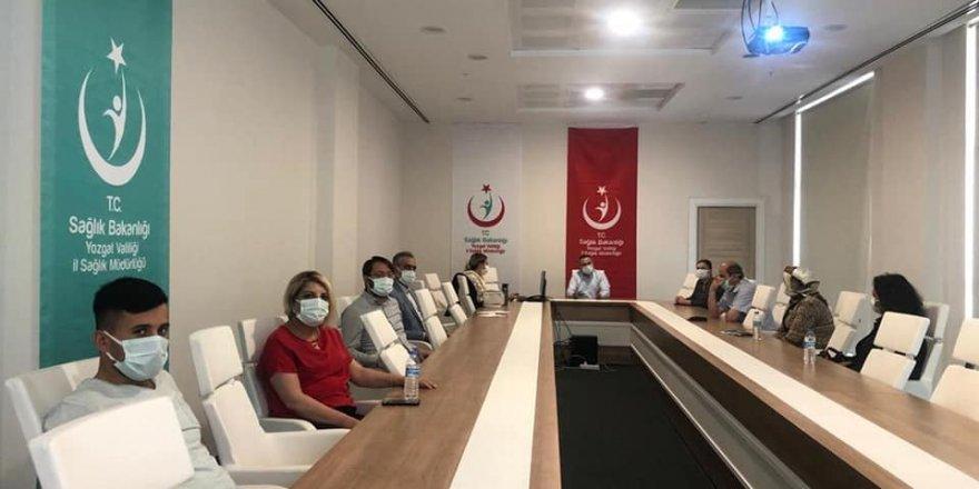 Yozgat'taki evde sağlık hizmetleri değerlendirildi