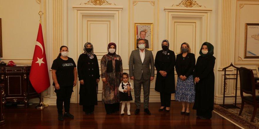 Yozgatlı hanımlar projelerini Vali Polat'la paylaştı