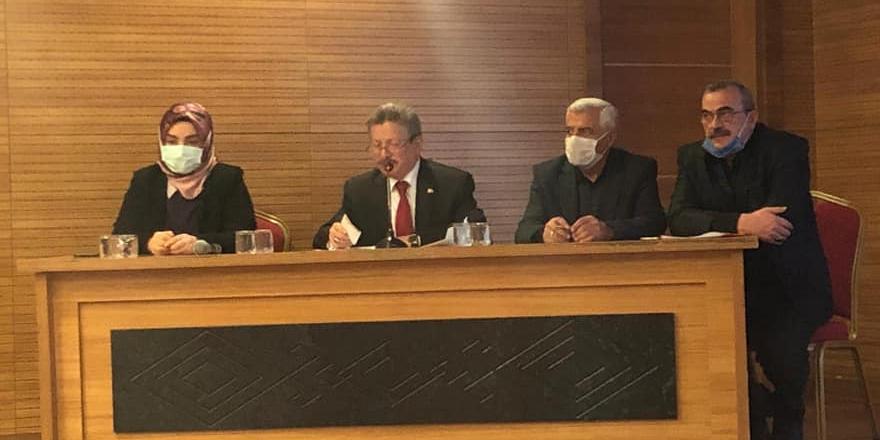 Ak Parti Yozgat Başkanlığı haftalık il yönetim kurulu toplantısı yapıldı