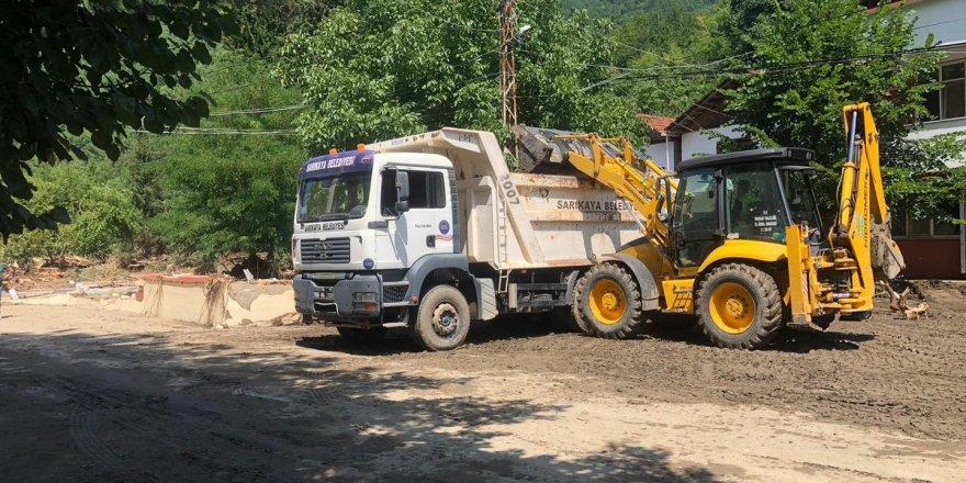 Bozkurt'a bir destekte Sarıkaya Belediyesi'nden