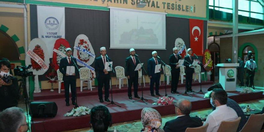 Yozgat'ta hafızlık icazet töreni düzenlendi