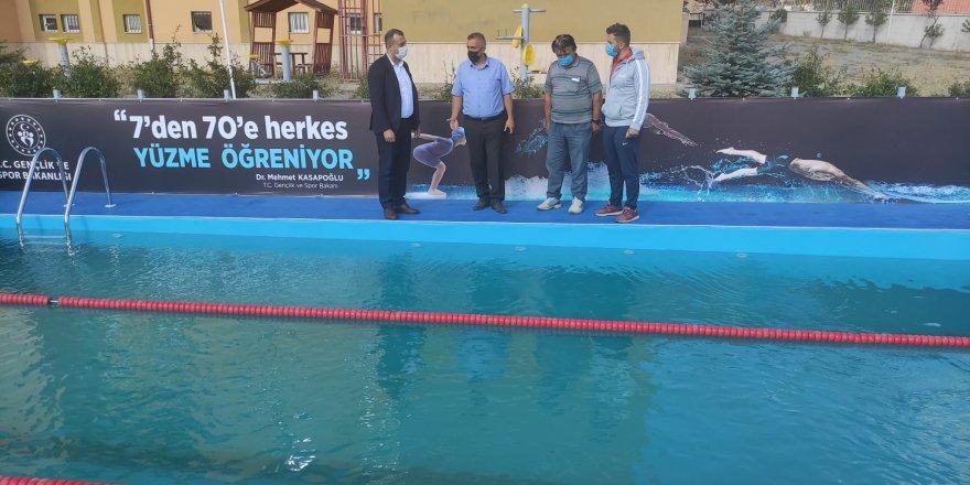 Boğazlıyan'da 'Yüzme bilmeyen kalmasın' projesi