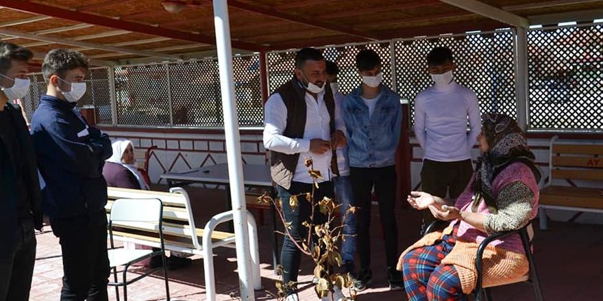 Alperen Ocakları Yozgat'ta ihtiyaç sahibi aileleri unutmadı