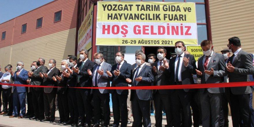 Çiftçiler Yozgat'ta buluşacak! Fuar kapılarını açtı