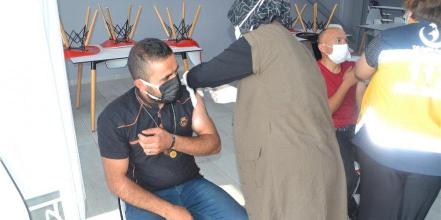 Yozgat'ta koronavirüse karşı aşı seferberliği