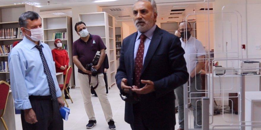 Yozgat Bozok Üniversitesi Rektörü Karadağ'dan Bilal Şahin'e teşekkür