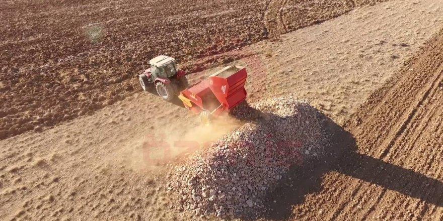 Yozgat'ta tarım arazileri taştan arınıyor