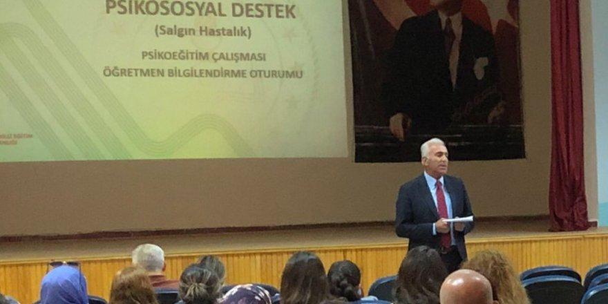 Yozgat'ta rehberlik öğretmenlerine eğitim verildi