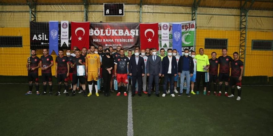 Yozgat'ta futbol turnuvası sona erdi